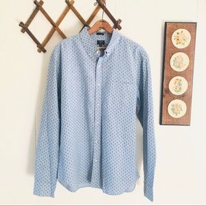 J Crew Slim Fit Chambray Long Sleeve Button Down